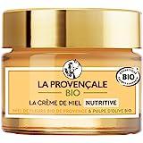 La Provençale Bio – Crème de Miel Nutritive – Miel de Fleurs Bio IGP Provence et Pulpe d'Olive Bio – Pour Tous Types de Peau