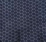 42 Zoll breit Marine-Blau-Blumendruck-Craft Rayon-Gewebe