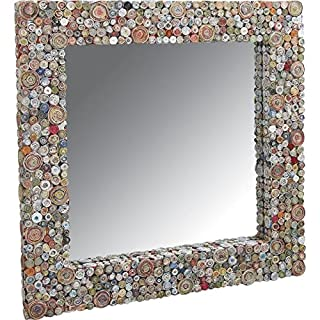 Aubry Gaspard Mirror Square Made From Recycled Paper