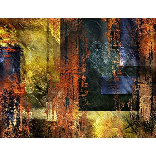 Fototapete Abstrakt Ornament 396 x 280 cm - Vlies Wand Tapete Wohnzimmer Schlafzimmer Büro Flur Dekoration Wandbilder XXL Moderne Wanddeko - 100{64d99b9f69a68e8081fb944539dc272d81e00325ed499d8268aacc8f80a1ba8d} MADE IN GERMANY - 9399012a