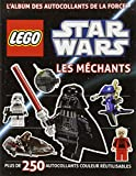 Lego Star Wars, l'album des autocollants de la force - tome 2 - Lego Star Wars, l'album des autocollants de la force n°2 Les Méchants