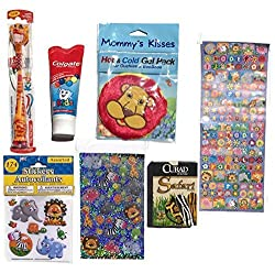 Tilly the Tiger Kids Manual Toothbrush w/Cap