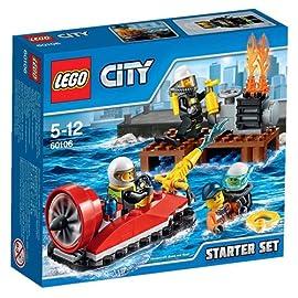 LEGO 60106 City Feuerwehr Starter Set