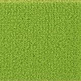 Teppichboden Auslegware Meterware Velour uni grün 400 cm und 500 cm breit, verschiedene Längen, Variante: 3 x 4 m
