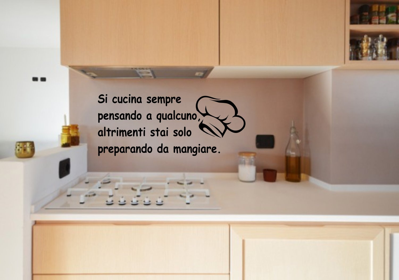 Awesome Frasi Per La Cucina Photos - Acomo.us - acomo.us