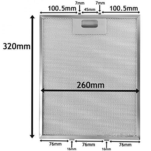 super-tv-products-metal-grease-filter-lot-de-2-filtres-a-graisse-universels-en-metal-pour-hotte-aspi