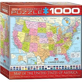 Springbok USA Map Jigsaw Puzzle Piece Amazonco - Us map jigsaw puzzle