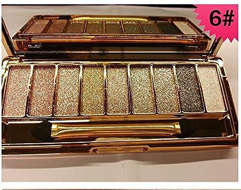 ionlyou 9 Couleur de Maquillage Fards à Paupières Maquillage Briller (6)