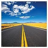 Wallario XXL Garten-Poster Outdoor-Poster - Route 89 in Arizona - Am Ende der Horizont in Premiumqualität, für den Außeneinsatz geeignet