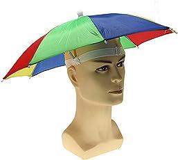 GLOBAL GIFTS Boy's Umbrella Hat (Multicolour)
