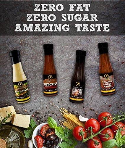 Slender Chef Sauce, Fettfrei und Zuckerfrei – Low Carb Saucen - 3