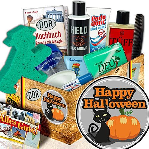 Happy Halloween | Männer Pflegeset DDR | Halloween Geschenkbox