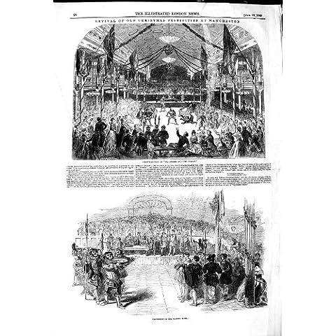 CUENCO 1849 de MANCHESTER WASSAIL de las FESTIVIDADES de la NAVIDAD [Cocina y Hogar]