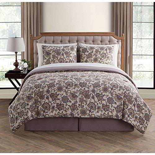 vcny Avon 8-teilig Bett in eine Tasche mit-Bettlaken-Set 6Stück Twin