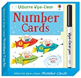 Wipe-Clean Number Cards
