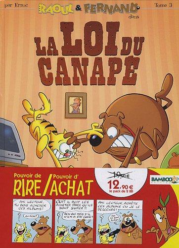 Raoul & Fernand : Pack en 2 volumes : La fureur de vivre ; La loi du canapé