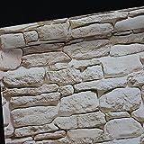 Retro Tapete Brick 3D selbstklebend, 100?x 45?cm, stein Tapete Dekoration Wand Aufkleber f?r Wohnzimmer - Big rock