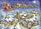 The House of Puzzles 500 Piece Jigsaw Puzzle - 2018 Christmas Collectors Edition No.13 - Christmas Eve NEW JULY 2018