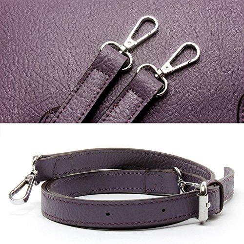 Fanmingsidi, Borsa a mano donna viola Purple Black