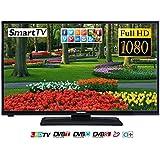 Telefunken D39F272N3CW 99cm (39 Zoll) Fernseher (Full HD, Triple Tuner, Smart TV, 400Hz CMP)