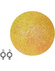 JewelBath Golden Sparkles - Boule de bain avec bijou surprise (boucles d'oreilles en argent Sterling 925, soin...