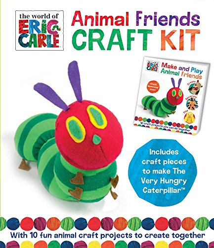Animal Friends Craft Kit: With 10 fun animal craft projects to create together (World of Eric Carle) (Handwerk Eric Carle)