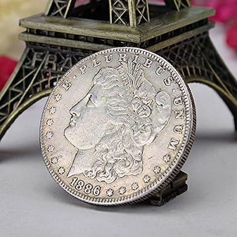 Bazaar Copiez morgan Reine pièce commémorative vieille pièce de monnaie imitation devises