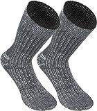 normani 6 Paar Original Jeans Socken mit Frotteesohle aus Baumwolle Farbe Grau Größe 39/42