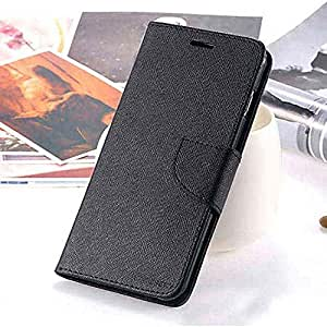 ★ OO LaLa Ji ★ Wallet Style ★ Flip Flap Cover For Coolpad Note 3 Lite ★ High Quality★ Black
