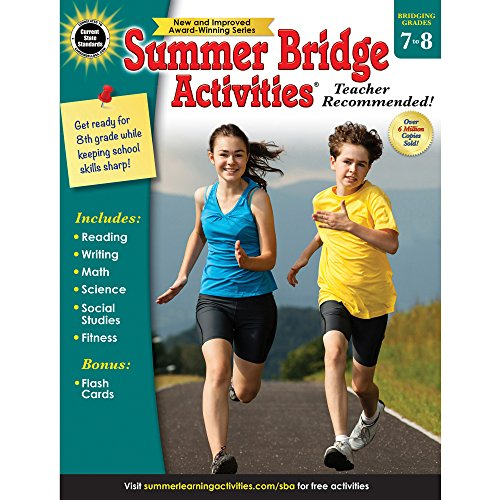 Summer Bridge Activities, Grades 7-8