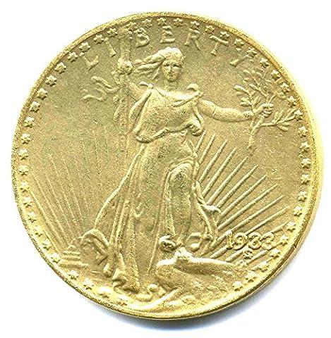 Pièce États-Unis 1933?20Dollars Double Eagle?Saint Saint-Gaudens
