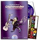 Gitarrenzauber Band 1 - Gitarrenschule von Stephan Hesse für Kinder ab 5 Jahren ( Prinzip der kleinen Lernschritte ) mit CD und Dunlop Plektrum SET - Auch als Geschenkidee ist diese Plecrtum-Card hervorragend geeignet, und bietet zudem Platz für eine individuelle Grußnachricht.