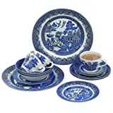 Churchill China Churchill Blue Willow Dinner Set, 20 Piece Best Review Guide