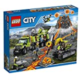 #10: Lego City Volcano Exploration Base, Multi Color with Free Santa's Visit