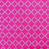 MAGAM-Stoffe Cecilia pink Baumwollstoff USA Import