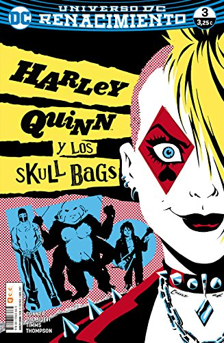 Portada del libro Harley Quinn 3