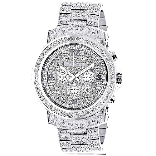 fully-iced-out-large-genuine-diamond-watch-for-men-by-luxurman-escalade-35ct-w-chronograph