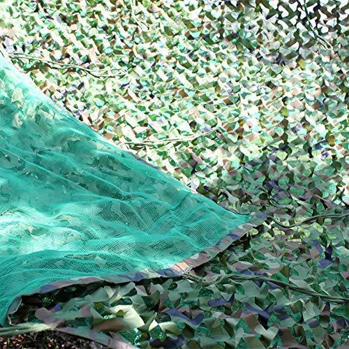 Schatten tuch Chunlan Polyester Oxford + 5 * 5cm Nylon-Seilgeflecht + Polyethylen DREI Etagen Tarnnetz Sonnenschutznetz Isolationsnetz (Size : 4X6m) (Etage 4 Halloween)