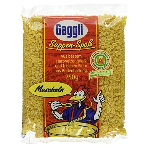 Gaggli Frischeier-Nudeln Muscheln, 250 g