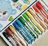 Schulbriefpapier-Student Using 12 Stück Farbe Öl Pastellkreide Kit ungiftig Multicolor Kinder Zeichnung Stift