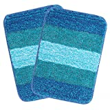 #1: Saral Home Soft Microfiber Bathamat (Pack of 2, 35x50 Cm)