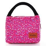 winmax Sac Repas Lunch Bag Sac à Déjeuner Sac Fraîcheur Portable Isotherme Grande Capacité pour l'école et Le Travail