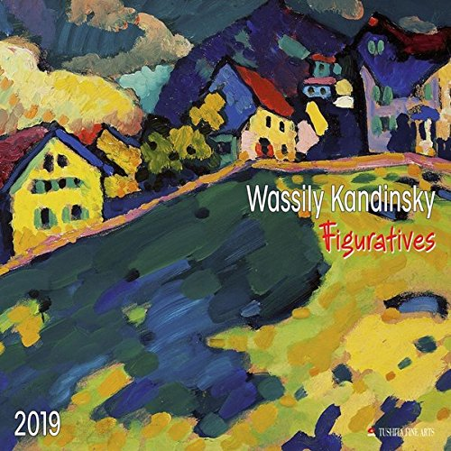 Wassily Kandinsky - Figuratives 2019: Kalender 2019