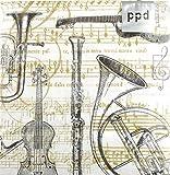 Servietten Concerto - Schönes Geschenk für Musiker