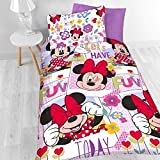 Minnie Mouse Meadow Bedding Set - Single. by Disney