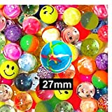 Perfect as a party bag filler, Not suitable for children under 36 months., 27mm, RANDOMLY ASSORTED, BOUNCY BALLS
