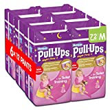 Huggies Pull Ups Nigh Time Potty Training Pants for Girls - Medium, 72 Pants Total