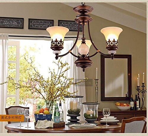HT Lampadario moderno retrò per cucina camera