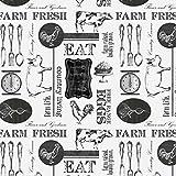 Farm/Essen Stoffe–Farm zu Tisch