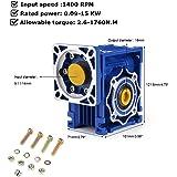 60 IPOTCH Moteur R/éduction R/éducteur /à Engrenages Bo/îte de Vitesse pour Stepper Motor